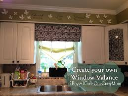 Diy Wood Valance Make Your Own Diy Window Valance In No Time An No Sew 2 Boys