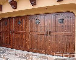 garage doors los angelesSpanish Style Garage Doors  Custom Designed  Handcrafted near