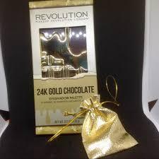 makeup revolution 24k gold chocolate palette