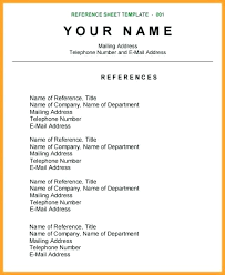 Reference For Resume References Page For Resume Grand References Custom How To Write References On Resume