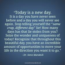 What A Beautiful Day Today Quotes Best of Quotes About Today Is A New Day 24 Quotes