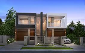 Custom Duplex Home Designer And Builder Sydney FJC Design Magnificent Home Builders Designs