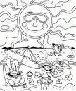 Раскраска для детей смешарики онлайн бесплатно