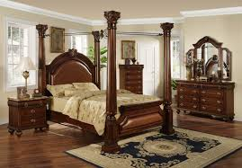 Queen Furniture Bedroom Set Bed Room Sets Timberline Queen Poster Bedroom Set Nolan Dark To