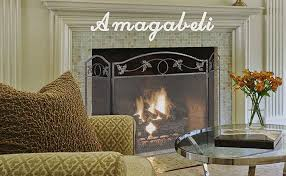 amagabeli fireplace screen for your sweet and safe room