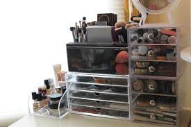 up organizer daiso storage conners 3 acrylic drawer large size sit on top of the dresser my makeup
