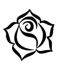 Rose Pictures To Color Idrakinfo