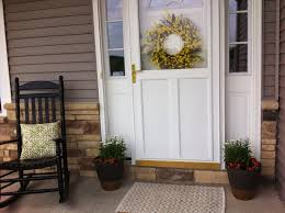 furniture for porch. Furniture Awesome Front Porch Decorating Design Ideas With Black For T