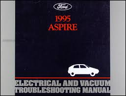 1995 ford obd1 engine emissions diagnosis manual original 1995 ford aspire electrical and vacuum troubleshooting manual original