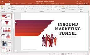 Sales Ppt Template Animated Inbound Marketing Funnel Powerpoint Template