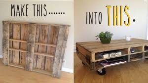 coffee table how to make an industrial furniture wood and metal