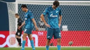 Футболисты «Зенита» проиграли дома в <b>Лиге чемпионов</b> ...