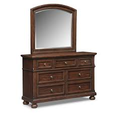 dresser with mirror. Unique Mirror Bedroom Furniture  Hanover Youth Dresser And Mirror Cherry For With A