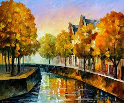 modern impressionism palette knife oil painting kp15207