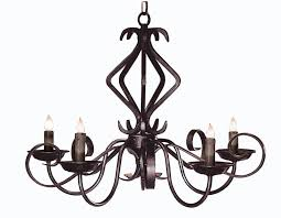 hand forged iron chandelier european style lc527