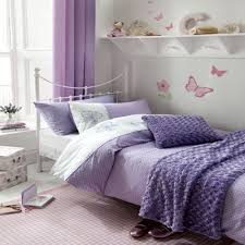 image of duvet cover purple single