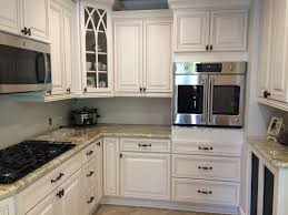 My Kitchen Finally Donebertch Cabinets Oyster Bay With Brown