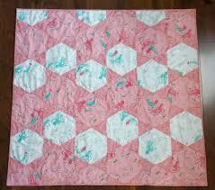Mermaid Hexagon Baby Quilt : AccuQuilt & image Adamdwight.com