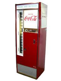Vendo Vending Machine Company Amazing Vendo H48B CocaCola BOttle Soda Machine