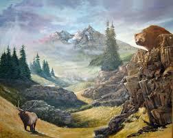 chris j gregg als oil paintings nature scenes