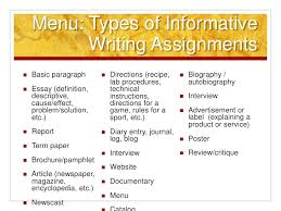 common core informative explanatory writing 14 determine the best organizational structure