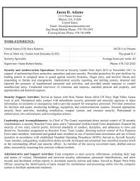 Federal Resumes Examples Free Resume Templates