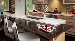 Modern Galley Kitchen Kitchen Mid Century Modern Galley Kitchen Tableware Wall Ovens