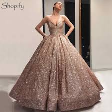 Sweet Heart Rose Size Chart Sparkly Long Women Formal Dresses 2019 Ball Gown Sweetheart