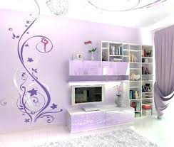Bedroom design for girls purple Cheerful Purple Wall Decor For Bedrooms Abstract Murals In Bedroom Design Girls Bring Happiness Art Pur Purple Wall Decor Butterfly Art Bedroom Home And Bedrooom Bedroom Outstanding Girl Room Decorating Ideas Girls Paint With
