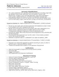 Production Operator Resume Examples Impressive Production Operator Resume Objective for Your Equipment 23