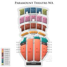 Paramount Theatre Seattle Concert Tickets And Seating View