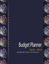 monthly bill organizer notebook budget planner 2018 2019 monthly bill planner and organizer gold