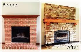 fireplace brick wall fireplace with wood fireplace mantel