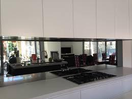 Black Splashback Kitchen 17 Best Ideas About Mirror Splashback On Pinterest Kitchen
