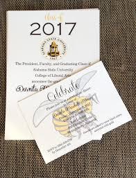 Alabama State University Graduation Invitations Myasu