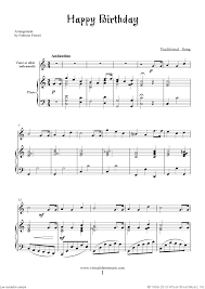 View, download and print in pdf or midi sheet music for happy birthday to you by misc traditional. Happy Birthday Free Sheet Music To Download For Piano Voice Or Other Instruments