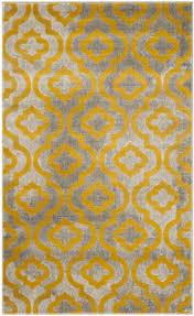 safavieh porcello prl7734 light grey yellow area rug