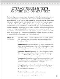 Word Test 3 Literacy Progress Test 3 Printable Forms Record Sheets Test Prep