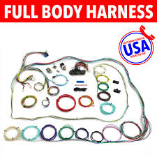 usa auto harness auto wiring electrical miscellaneous sears usa auto harness tlm235107 1953 1970 volkswagen wire harness upgrade kit fits painless update new