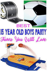 15 year old boys party ideas