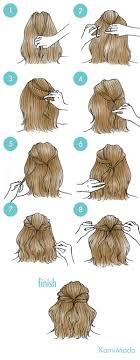 不器用さん必見簡単ボブのヘアアレンジイラスト付きー髪のお悩みや