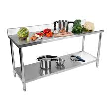 Commercial Stainless Steel Catering Work Table Kitchen Giant Kitchen