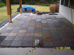 Outdoor Patio Flooring Options Trim Paint And New Flooring Slate Tile For Outdoor Patio