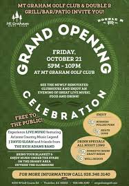 Grand Opening Flyer Adorable Golf Course Restaurant To Hold Grand Opening Celebration