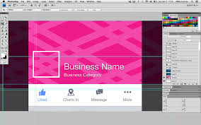 facebook cover photo template mobile preview
