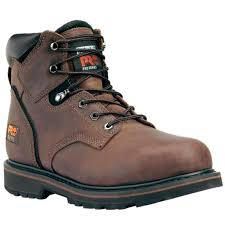 timberland pro 33034 pit boss 6 full grain steel toe leather boot
