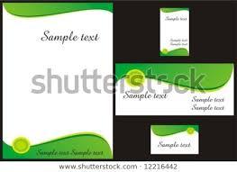 Memo Card Template Corporate Identity Design Template Vector Memo Stock Vector Royalty