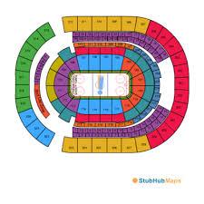 Bridgestone Seating Chart Detailed Bridgestone Arena Chart Bridgestone Arena Seating