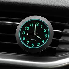 <b>Luminous Auto Gauge</b> Clock Car Quartz Clock for fiat 500 500x ...