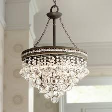 kitchen chandelier best of regina olive bronze 19 wide crystal chandelier chandeliers